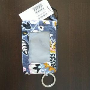 NWT Vera Bradley ID holder/ keychain